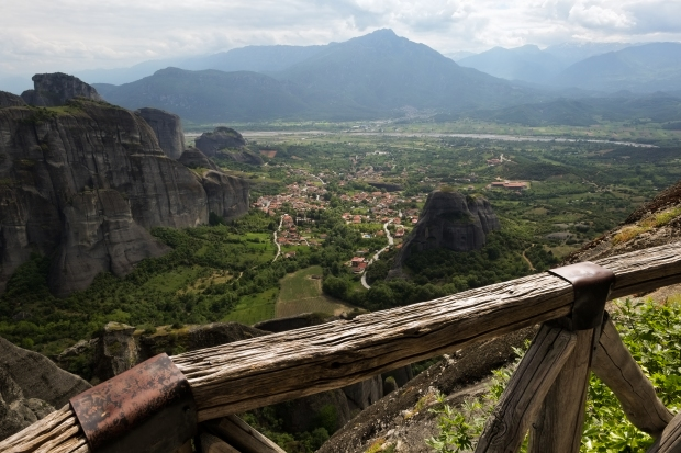 View from the Grand Meteora.