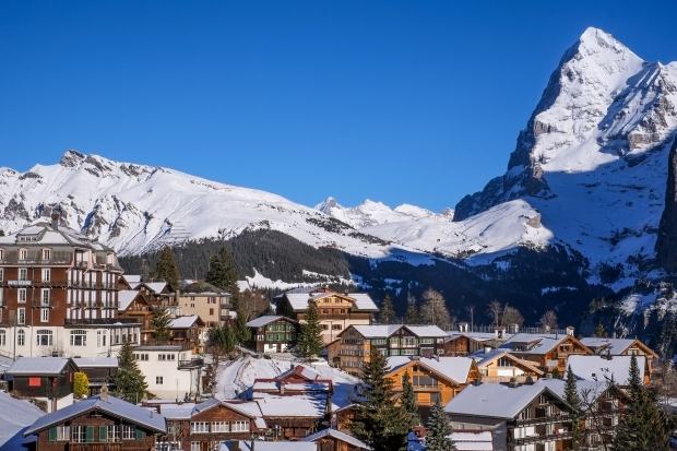 The town of Mürren